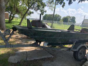 aluminum boat for Sale in Rosenberg, TX