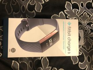 Fitbit charge 3 rose gold for Sale in Houston, TX