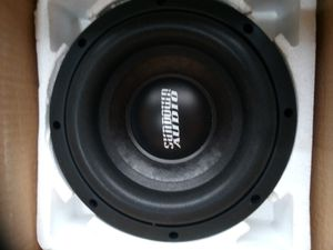 Sunbeam audio woofer.300 watts model E8 v5 independence dual 4 OHM for Sale in Philadelphia, PA