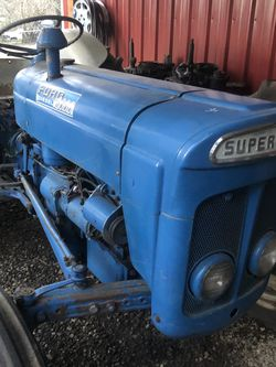 Ford Super Dexta Tractor 1965? (We Think) Diesel With Howard 52inch Tiller for Sale in Portland,  OR