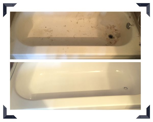 REGLAZE!!! REFINISHING!!! BATHTUB - TILES AND TUB - COUNTERTOP - kITCHEN COUNTER ... LIKE NEW
