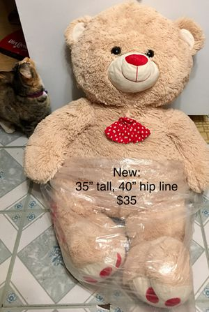 Teddy bear giant, new for Sale in STUYVSNT PLZ, NY