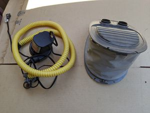 Air pump for inflatable boat for Sale in Poway, CA