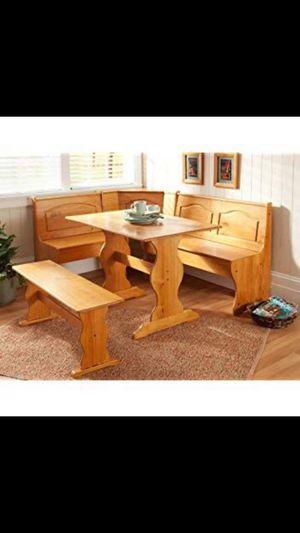 Corner table Breakfast nook for Sale in Riverview, FL