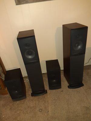 Infinity reference floor speakers for Sale in Broken Arrow, OK