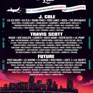 Rolling Loud Miami 2018 General Admission Ticket for Sale in Miami, FL