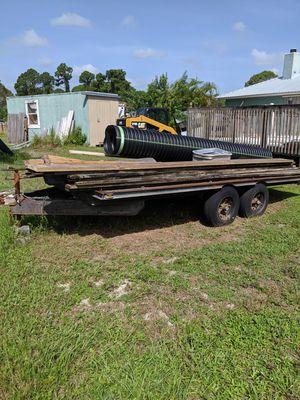 heavy duty trailer for Sale in GRANT VLKRIA, FL