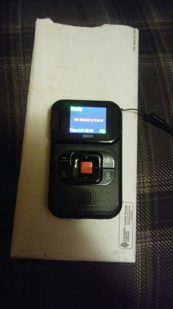 RCA. Small camcorder