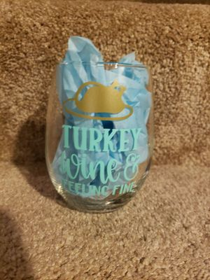 Handmade wine glass for Sale in Oak Forest, IL