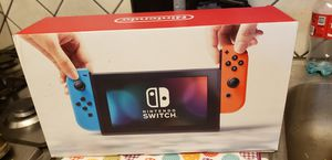 Nintendo switch with 4 games for Sale in Los Angeles, CA