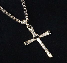 New Gold Cross Chain Necklace $10. for Sale in Pensacola,  FL