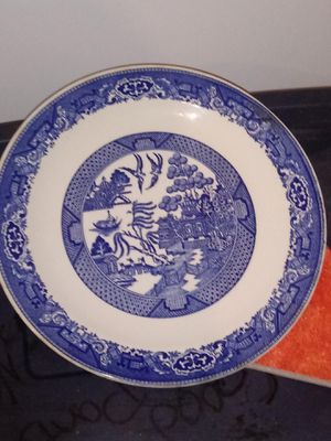 Willow Ware Royal China Plate antique blue for Sale in Mount Airy, NC