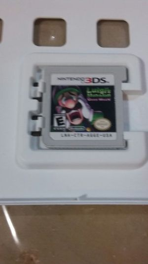 Luigi's mansion dark moon for Sale in Nashville, TN
