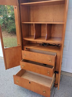 National Mt Airy large armoire / tall dresser for Sale in Duluth, GA
