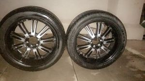 Tires with rims 22s for Sale in Phoenix, AZ