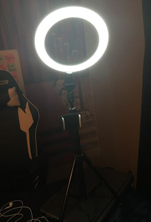 Ring light phone stand for Sale in Longview, TX