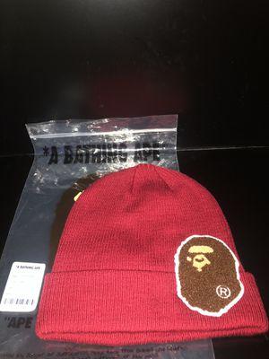 Bape Big Ape Burgundy Head Knit for Sale in Los Angeles, CA