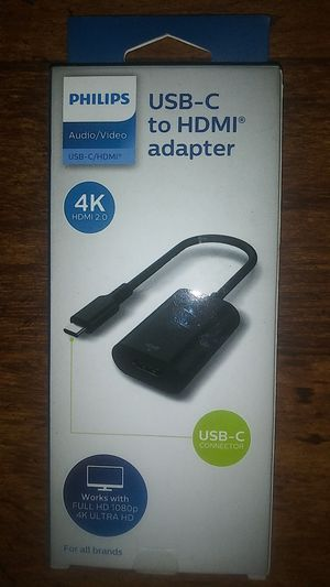 Philips USB-C to HDMI adapter for Sale in San Angelo, TX
