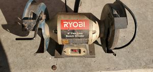 Ryobi 6 in. Thin line bench grinder for Sale in Lawton, OK