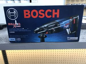 NEW Bosch Bulldog Xtreme 8 Amp 1 in. Corded Variable Speed SDS-Plus Concrete/Masonry Rotary Hammer Drill with Carrying Case Model# 11255VSR $160 CA for Sale in Los Angeles, CA