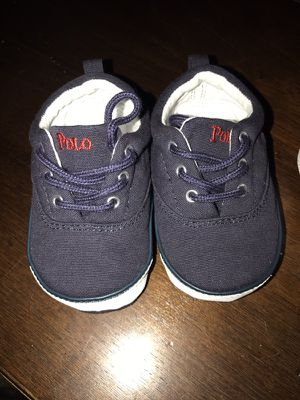Baby polo crib shoes for Sale in Orlando, FL