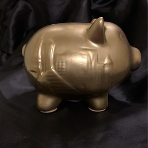 Gold Vegas Piggy Bank for Sale in New York, NY