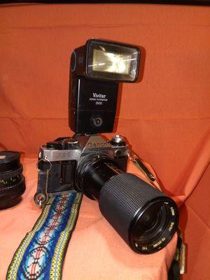 Canon AE-1 Programs w/ Vivitar zoom Thyristor 3500 for Sale in San Diego, CA