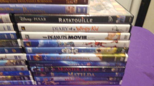 Lot Disney DVD