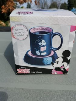 mickey mouse 10 Oz. mug and warmer brand new! for Sale in Sherwood,  OR