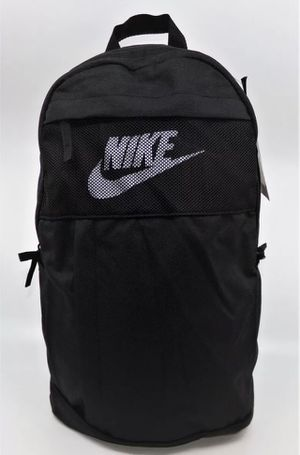 Nike Elemental LBR Backpack 2.0 Bag UNISEX BLACK WHITE BA5878-010 NWT for Sale in Pawtucket, RI