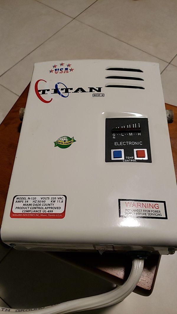 Titan SCR 2 Electronic Water Heater