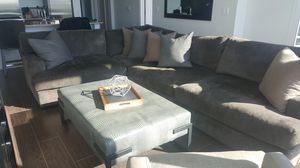 Sectional Sofa with Wide Couch Seating for Sale in Atlanta, GA