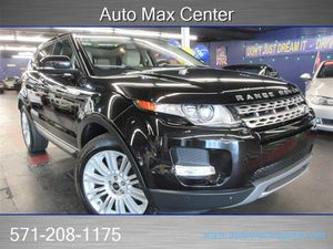 2013 Land Rover Range Rover Evoque for Sale in  Manassas, VA