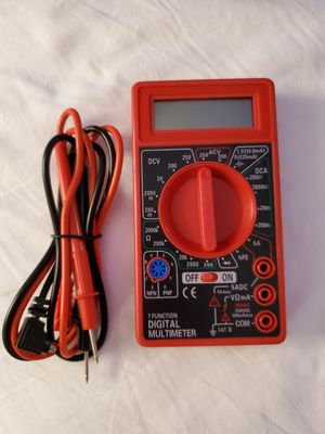 7 functional digital multi meter for Sale in North Miami, FL