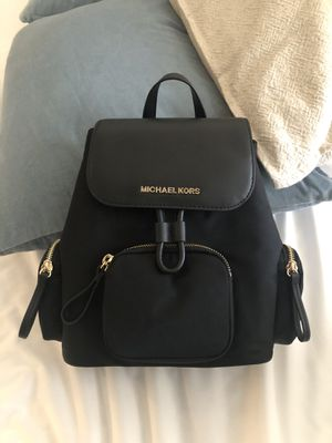 Brand New with Tags - Michael Kors Black Backpack for Sale in Phoenix, AZ