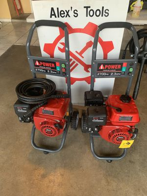 Ipower 2700psi pressure washers for Sale in Riverside, CA