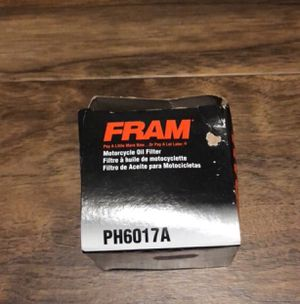 Motorcycle oil filter. New. PH6017A for Sale in North Arlington, NJ