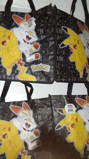 Lot of 4 Pikachu Pokemon bags for Sale in Nashville, TN
