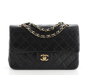 Chanel Vintage Classic Double Flap Bag Quilted Lambskin Medium for Sale in GA, US