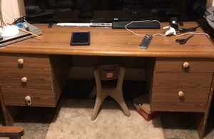 Solid wood desk for Sale in Leesville, SC