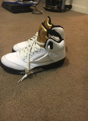 Jordan 5 gold for Sale in Tallahassee, FL