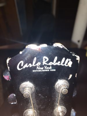 Carlo Robella Guitar for $50 comes with case for Sale in North Miami Beach, FL