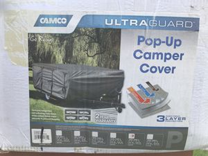Brand New Camco ultraguard pop up camper cover for Sale in Long Beach, CA