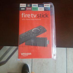 fire stick tv amazon alexa voice control for Sale in Pomona, CA