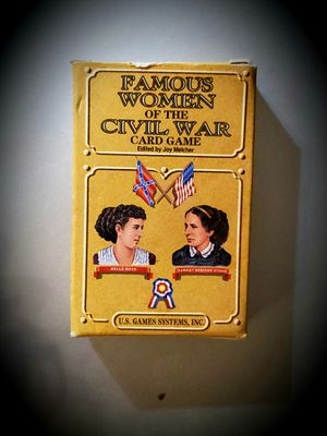 Famous Women of the Civil War Card Game for Sale in Fairfax, VA