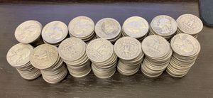 90% Silver Washington Quarters 1964 and Below - Choose How Many for Sale in West Hollywood, CA
