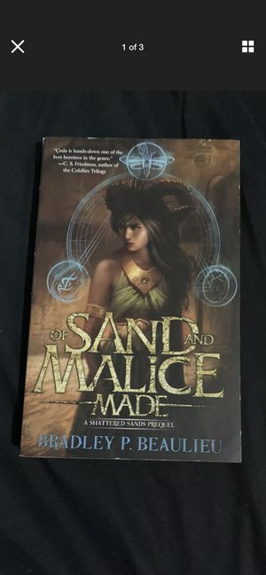 Of Sand and Malice Made : A Shattered Sands Novel for Sale in Chicago, IL