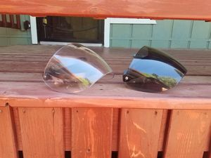 Helmet flip up wind shield clear and tinted for Sale in Lakeside, AZ