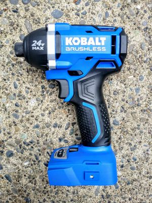 "KOBALT 24 Volt Brushless 1/4"" Impact Driver 3 Speeds (TOOL ONLY) for Sale in Tacoma, WA"