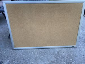 Cork board 36 x24 for Sale in Apex, NC